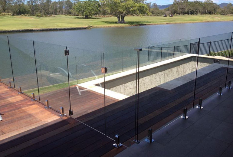 Glass Fencing Gold Coast